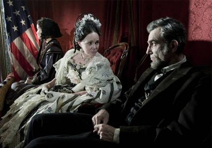 Sally Field and Daniel Day-Lewis in Lincoln, one of our Top 10 Films of 2012