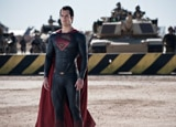 Henry Cavill plays Superman in Man of Steel