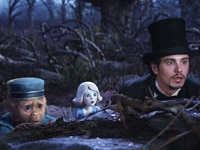 James Franco as Oz in Oz the Great and Powerful