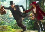 James Franco and Mila Kunis in Oz the Great and Powerful