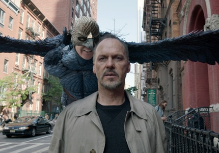 Michael Keaton in Birdman, one of GAYOT's Top 10 Movies of 2014