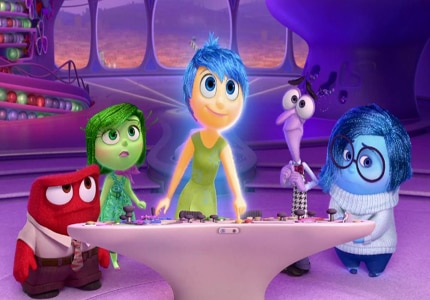 Pixar Animation's Inside Out, one of GAYOT's Top 10 Films of 2015