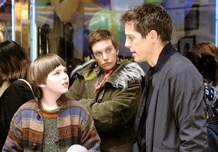 Hugh Grant, Toni Collette and Nicholas Hoult star in About a Boy, one of GAYOT's Top 10 Romantic Comedies