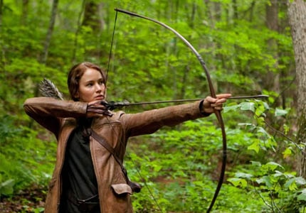 Read our review of The Hunger Games, starring Jennifer Lawrence