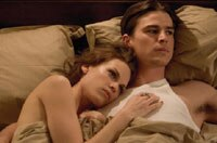 Hillary Swank and Josh Hartnett in The Black Dahlia
