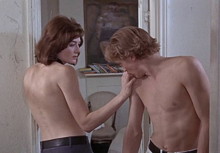 Vanessa Redgrave and David Hemmings in Blow-Up