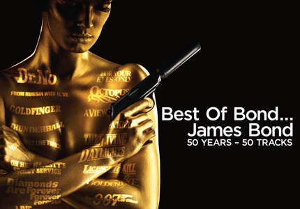 Best of Bond...James Bond, 50 Years - 50 Tracks