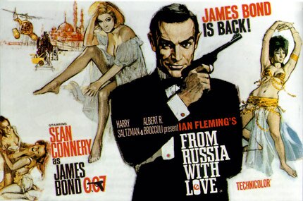 Sean Connery stars in From Russia With Love