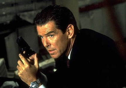 Pierce Brosnan as 007 in The World Is Not Enough