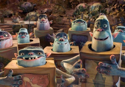 Explore the underground world of The Boxtrolls