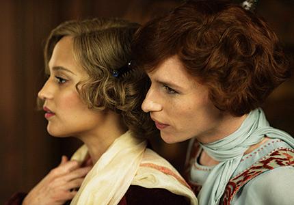 Eddie Redmayne and Alicia Vikander in the heart-wrenching film The Danish Girl