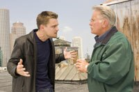 Leonardo DiCaprio and Martin Sheen in The Departed
