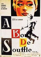 Breathless by Godard, a quintessential French New Wave film