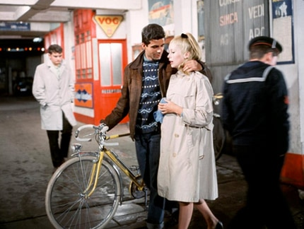 Pop art opera The Umbrellas of Cherbourg stars a young Catherine Deneuve