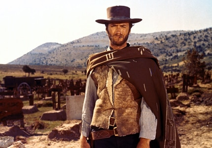Clint Eastwood in The Good, the Bad and the Ugly, one of GAYOT's Top Westerns