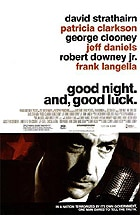 Good Night, and Good Luck. Movie Poster
