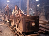 Anita Briem, Brendan Fraser and Josh Hutcherson in Journey to the Center of the Earth