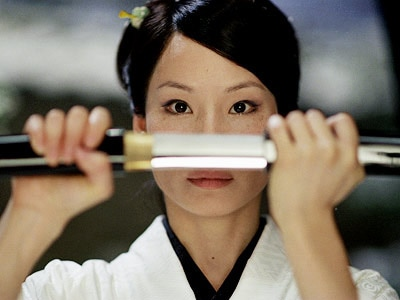 Lucy Liu in Kill Bill Vol. 1, one of GAYOT's Top 10 Action Films