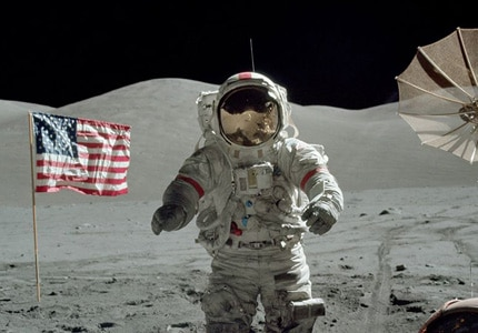 Get an inside look at the end of the Apollo program in The Last Man on the Moon