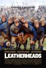 """Leatherheads"" movie poster"