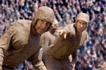 "George Clooney and John Krasinski in ""Leatherheads"""