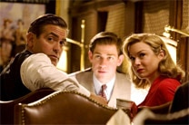 "George Clooney, John Krasinski and Renee Zellweger in ""Leatherheads"""