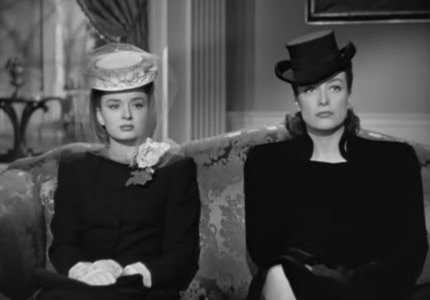 Joan Crawford won an Oscar for her role as a successful single mother in Mildred Pierce