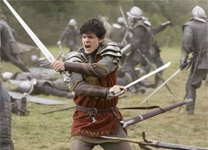 "Skandar Keynes in ""The Chronicles of Narnia: Prince Caspian"""