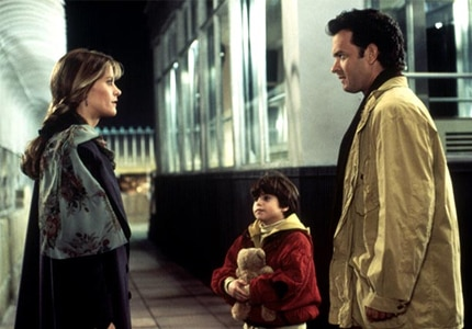 Meg Ryan and Tom Hanks star in Sleepless in Seattle, featured on GAYOT.com's list of Top 10 Romantic Comedies