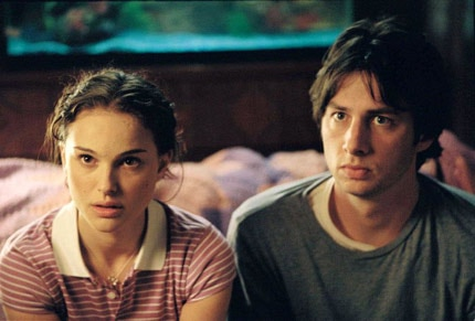 Garden State, a quirky and melancholy film by Zach Braff, and one of our favorite romantic movies