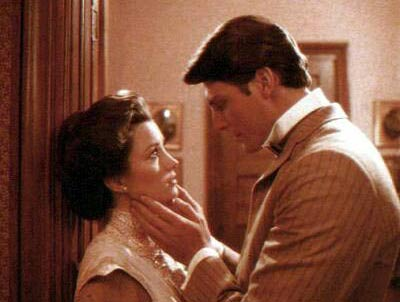 Jane Seymour and Christopher Reeve in Somewhere in Time