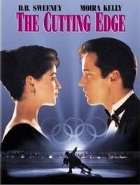 Moira Kelly and D.B. Sweeney in The Cutting Edge