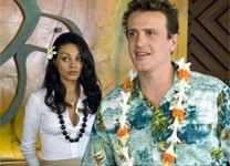 "Mila Kunis and Jason Segel in ""Forgetting Sarah Marshall"""
