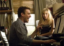 "Jason Segel and Kristen Bell in ""Forgetting Sarah Marshall"""