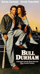 Kevin Costner and Susan Sarandon in Bull Durham