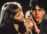 Rebecca De Mornay and Tom Cruise in Risky Business