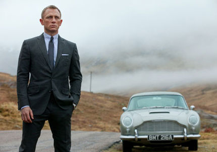 Daniel Craig as 007 in Skyfall. Which is your favorite James Bond movie of all time?