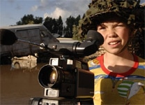 "Bill Milner in ""Son of Rambow"""