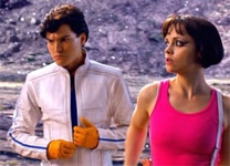 "Emile Hirsch and Christina Ricci in ""Speed Racer"""
