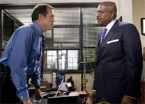 "Hugh Laurie and Forest Whitaker in ""Street Kings"""