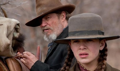 Jeff Bridges and Hailee Steinfeld in True Grit, one of our Top 10 Films of 2010