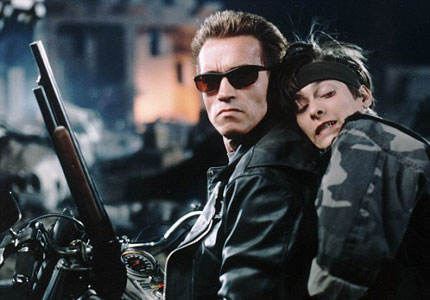 Arnold Schwarzenegger in Terminator 2: Judgment Day