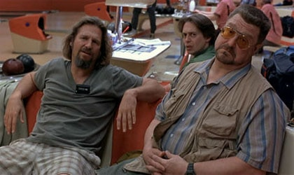 Jeff Bridges, Steve Buscemi and John Goodman in The Big Lebowski
