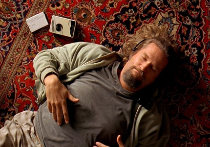 Jeff Bridges plays fan-favorite The Dude in the Coen Brothers' The Big Lebowski, one of GAYOT's Top 10 Cult Films
