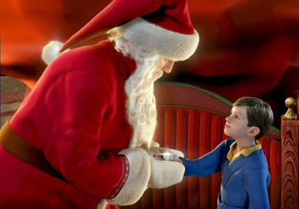 """The Polar Express,"" one of GAYOT's Top 10 Holiday Movies"