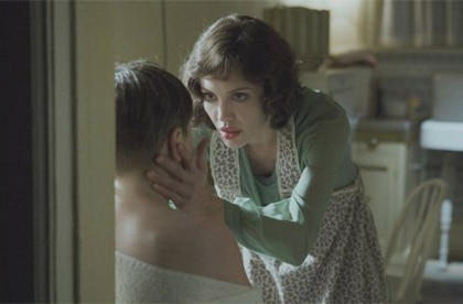 Angelina  Jolie in Changeling is one of GAYOT's Top Movie Moms