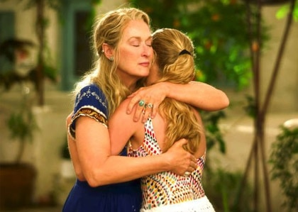 Meryl Streep and Amanda Seyfried in Mamma Mia!