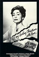 Mommie Dearest poster