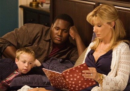 Sandra Bullock stars in The Blind Side as Leigh Anne Tuohy, one of GAYOT's Top 10 Movie Moms
