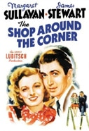 Margaret Sullavan and James Stewart in The Shop Around the Corner